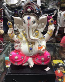 Lord God Ganesh/Ganpati/ Ganesha Idol – Statue Gift Item (H-11 cm)