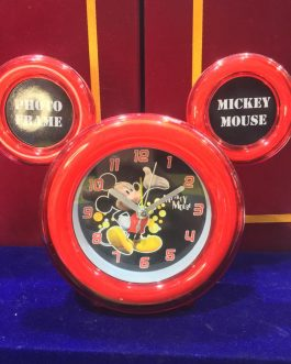 Mickey Mouse Alarm Clock, 11 cm X 3 15 (Multicolor)