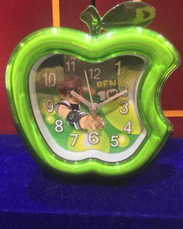 Apple Shape Table Clock Wall Clock with Alarm
